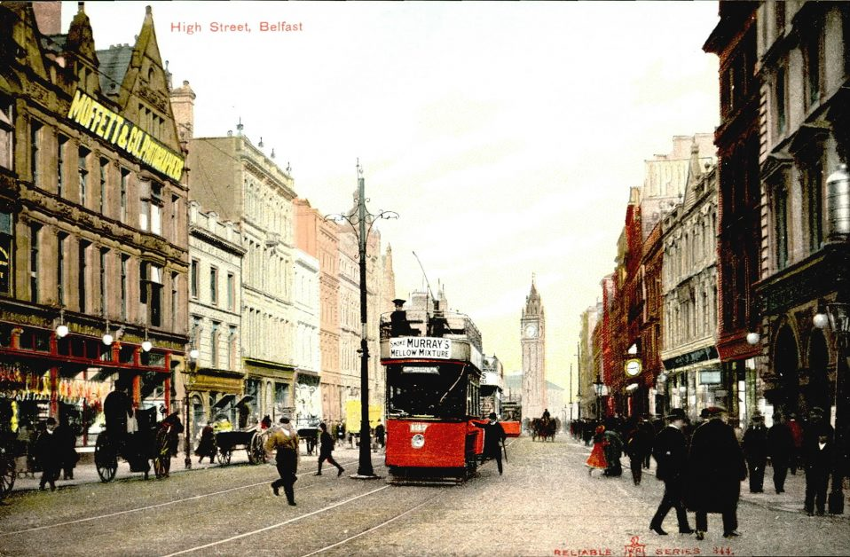Belfast City Centre Postcard